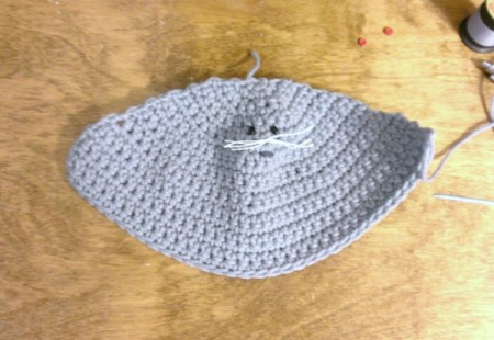 Crochet Stuffed Mouse