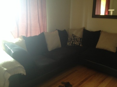 couch near window