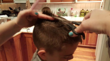 Boy's Haircut