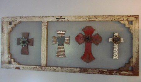 completed project wall hanging