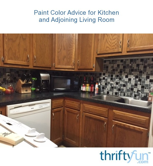 Paint color advice for kitchen and adjoining living room - Paint colors for living room and kitchen ...