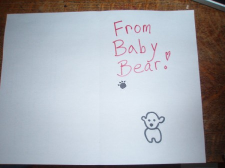 Poppa Bear Card for Father's Day