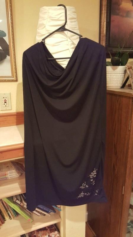 Re-purposed Dress - skirt used for dress bottom
