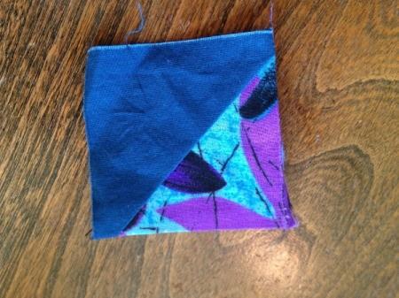 Repairing a Tear in a Quilt Block