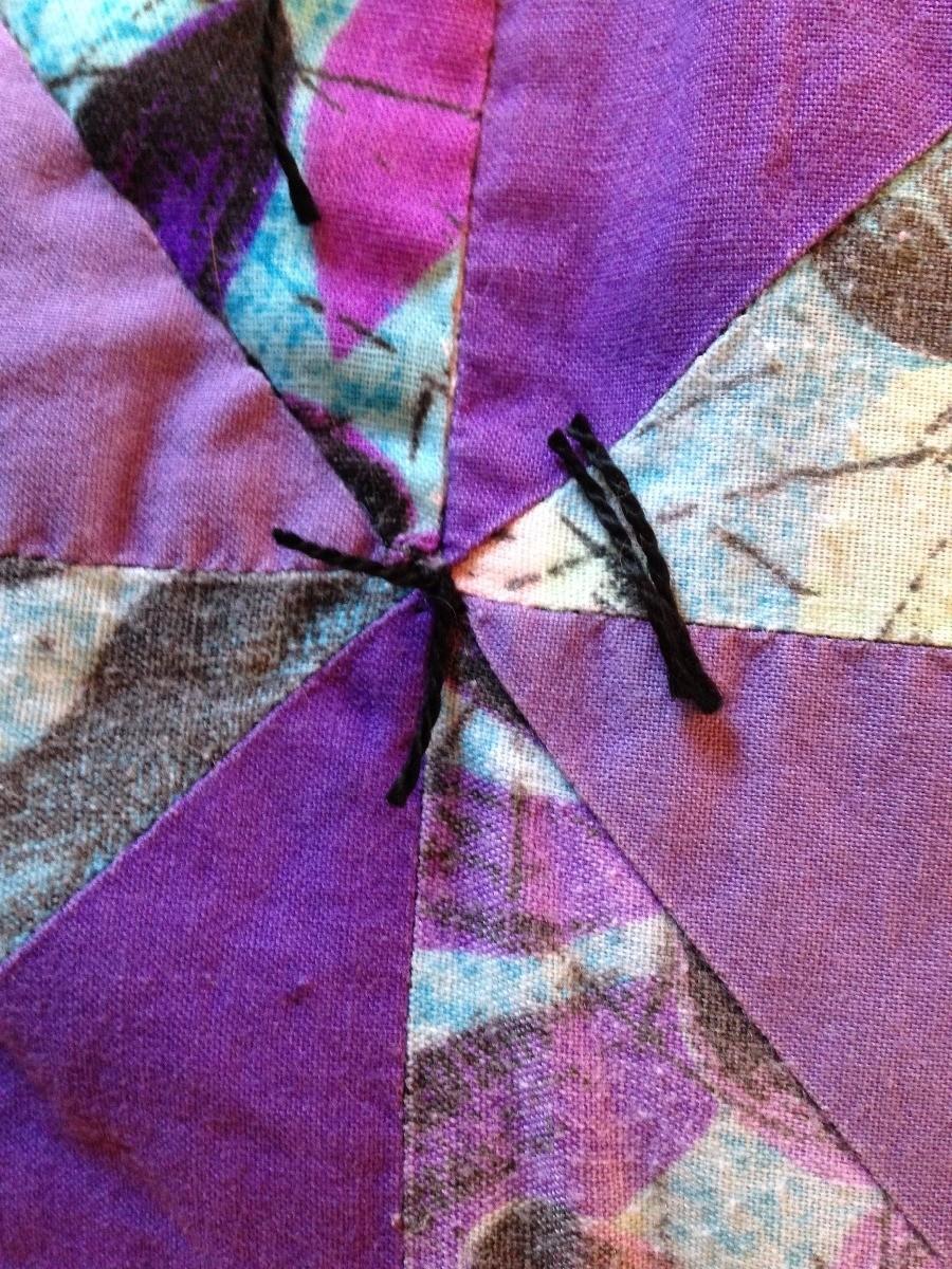 Repairing a Tear in a Quilt Block | ThriftyFun