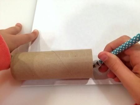 Toilet Paper Tube Confetti Launcher