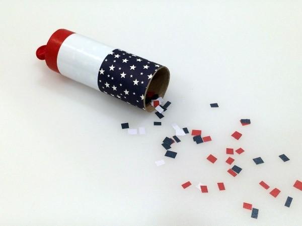 Making a Paper Tube Confetti Launcher