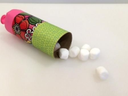 Paper Tube Marshmallow Launcher