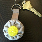 Weighted Yo Yo Keychain
