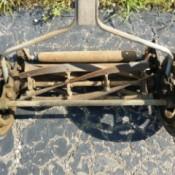 Kennedy's Rubberset Reel Mower