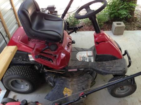 Craftsman LT 1000 Riding Mower Won't Start | ThriftyFun