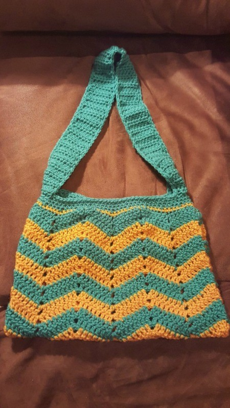 finished purse