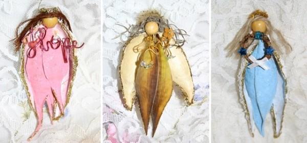 Milkweed Ornaments (Angel Pods)