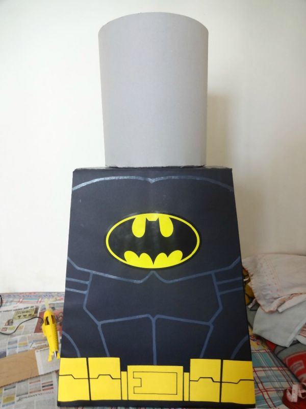 Lego Batman Cosplay - Head and Cape & Lego Batman Costume (Head and Cape) | ThriftyFun