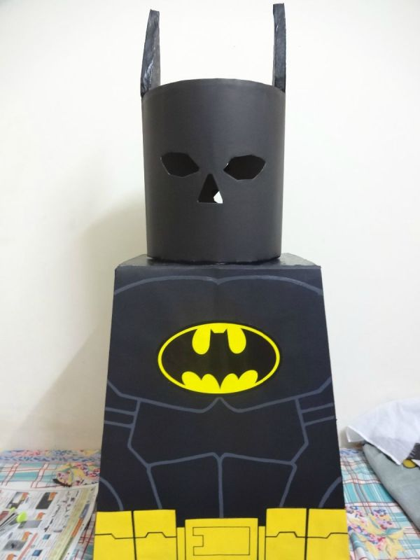 Lego Batman Cosplay - Head and Cape & Lego Batman Costume (Head and Cape) | ThriftyFun