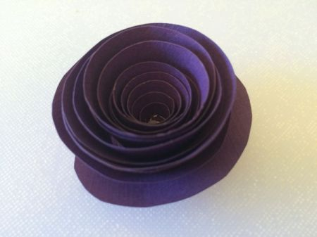 Spiral Paper Flowers