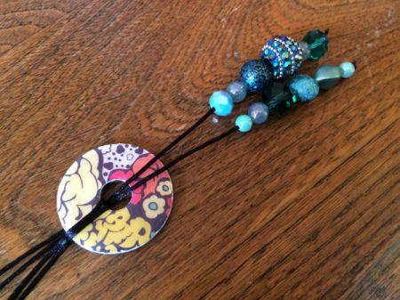 Washer Lariat Necklace