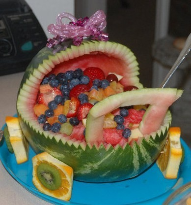 Making A Fruit Bowl Baby Carriage Thriftyfun