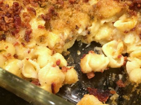 Blue Cheese and Gruyere Mac and Cheese