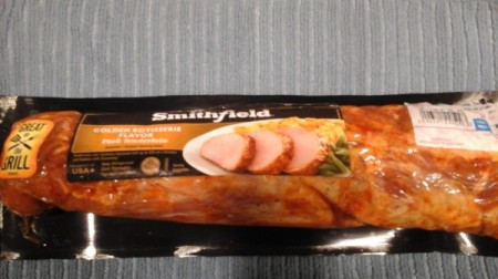 pork loin in the package