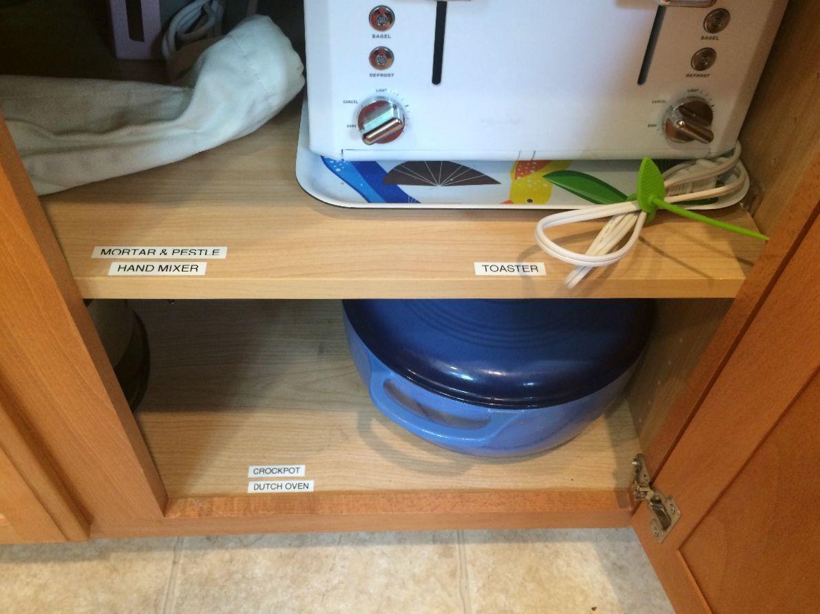 Storing Kitchen Appliances Thriftyfun