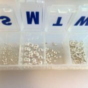 Pill Organizer for Beads and Findings - beads in pill organizer