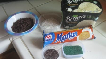 Ice Cream Sandwiches - ingredients