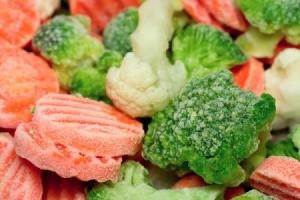 frozen veggies.