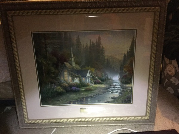 Exceptionnel Question: Value Of Thomas Kinkade Print