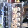 Use Spice Rack for Coffee Pods