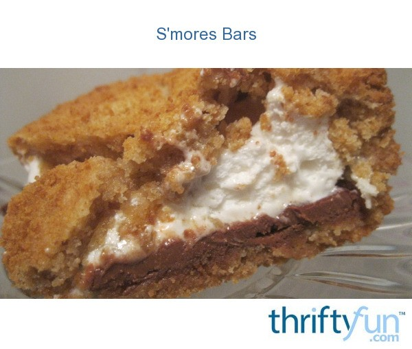 S'mores Bars | ThriftyFun