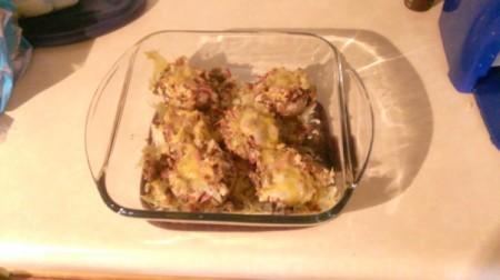 pan baked