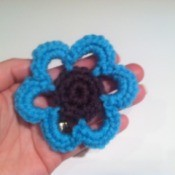 Artsy Crochet Flower