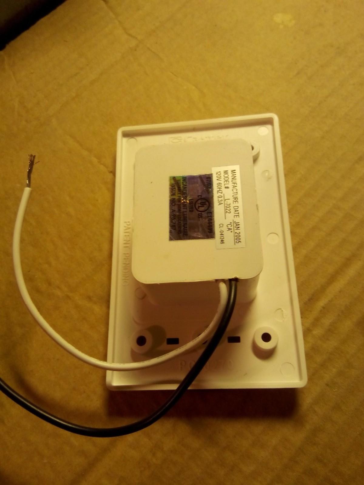 Marvelous No Ground Wire On Nightlight Thriftyfun Wiring Digital Resources Spoatbouhousnl