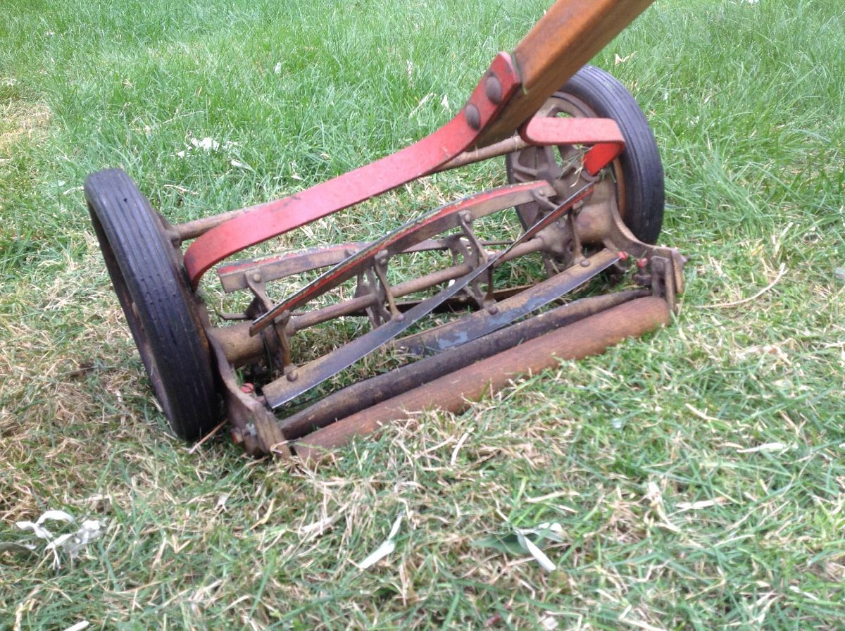 Age And Value Of Reel Mower Thriftyfun