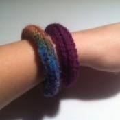 15 Minute Crochet Bangles