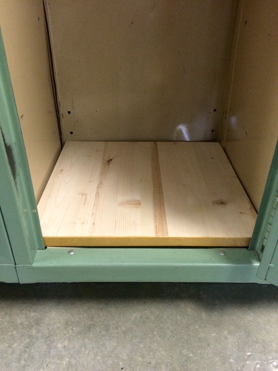 Making Wooden Locker Shelves Thriftyfun