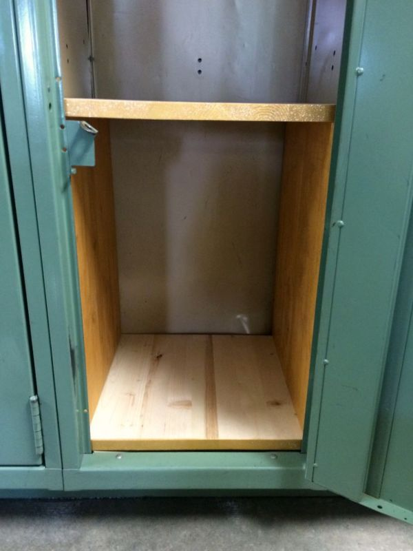 Making wooden locker shelves thriftyfun solutioingenieria Images
