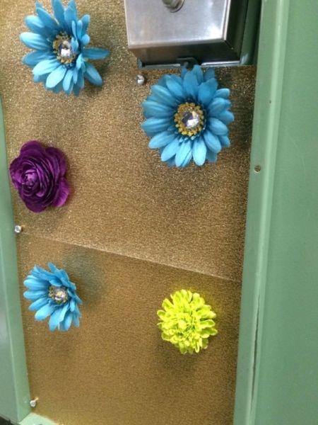 Flower Locker Magnets