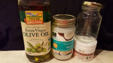 Cocoa Butter Cream Moisturizer Recipe - ingredients