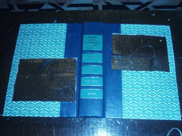 Making A Recycled Book Picture Frame Thriftyfun