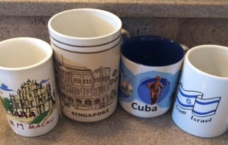 Under Cabinet Mug Display