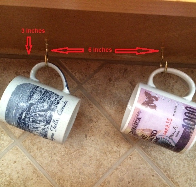 Organizing Coffee Mugs Thriftyfun