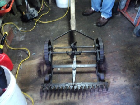 Value of Old Sickle Bar Mower