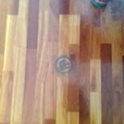 stain on floor