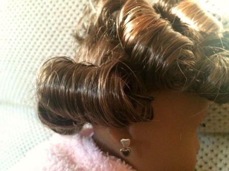 Pin Curling an American Girl Doll's Hair