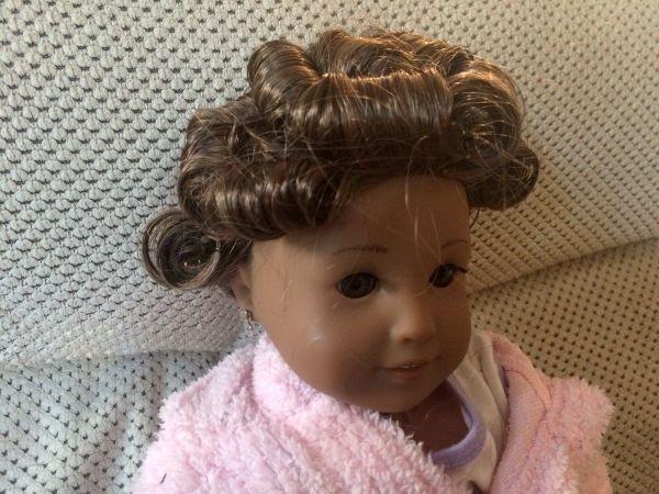 Pin Curling An American Girl Dolls Hair ThriftyFun - American girl doll hairstyle ideas