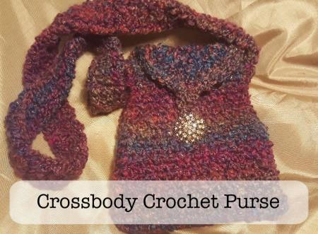 Cross-body Crochet Purse