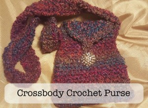 Cross-body Crochet Purse