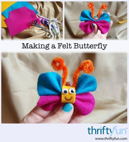 Making a Felt Butterfly